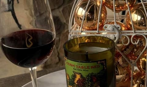 Wine  Design DIY Holiday Candles Image