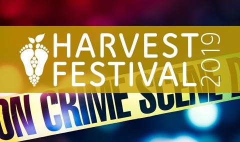 Harvest Festival Lights Camera Murder Murder Mystery Dinner Image