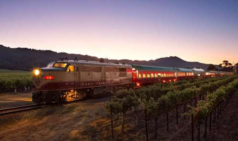 GRAND Opening Wine Train Dinner Celebration Image