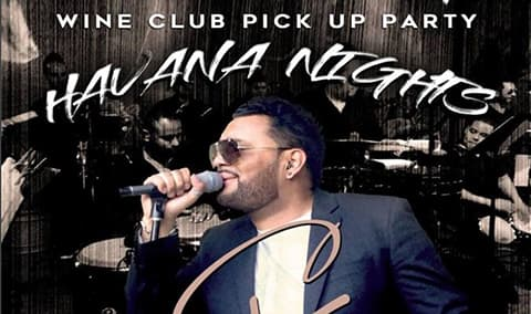 Havana Nights Theme - Wine Club Release Party Image