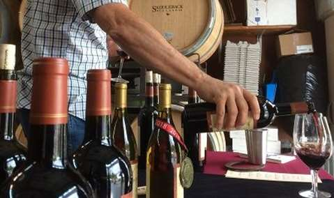 Tagalong! Reserve Cabernet Release Party::Live Music by J Thomas Griffith