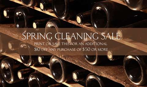 Spring Cleaning Friends  Family Sale Image