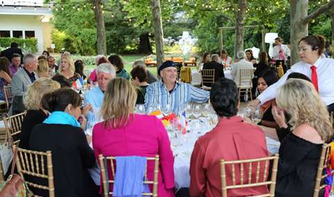 Summer Solstice Dinner in the Sycamore Grove Image