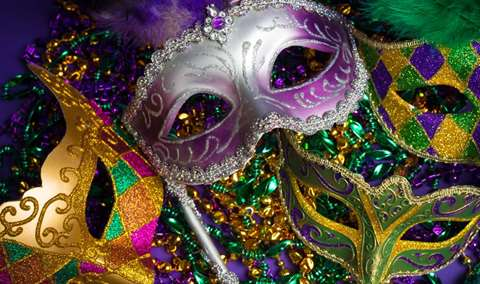 Mardi Gras Celebration Dinner Image