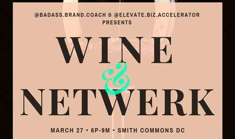 WineandWERK Wednesday NetWERKing Mixer Image