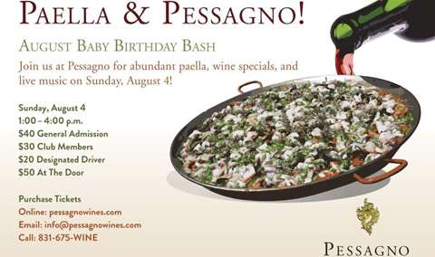 Paella & Pessagno  |  August Birthday Bash 2019