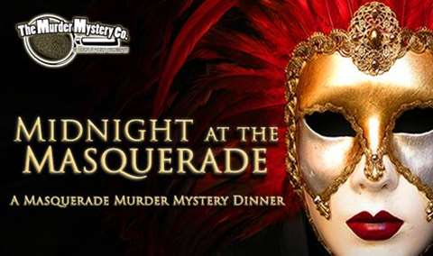 Midnight at the Masquerade Murder Mystery Dinner Image
