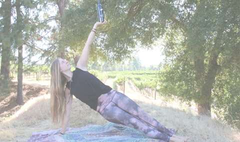 WOGA WINE  YOGA IN THE ORCHARD Image