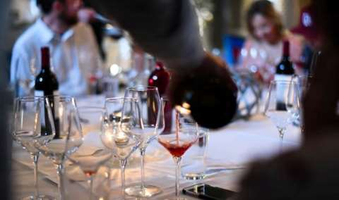 Carboy Harvest Wine Dinner Image