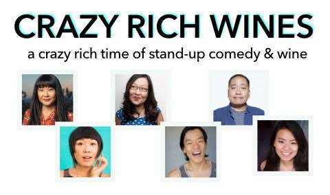 Crazy Rich Wines A Crazy Rich Time of Stand-Up Comedy  Wine Image