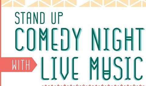 STAND UP COMEDY  LIVE MUSIC AT THE ANNEX Image