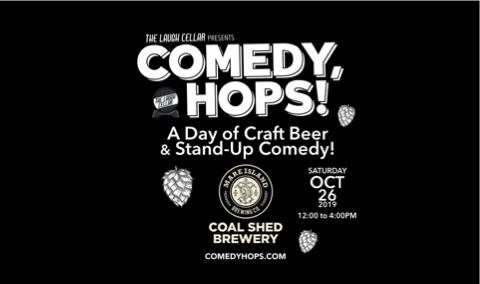 Comedy, Hops A Day of Craft Beer  Stand-Up Comedy Image