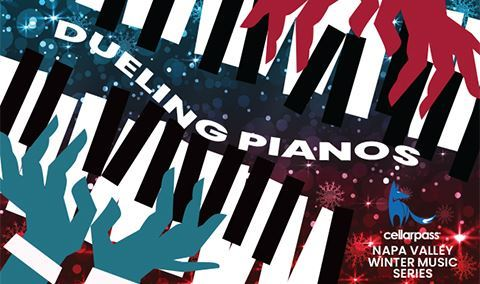 Napa Valley Winter Music Series - Dueling Pianos Presented by CellarPass Image