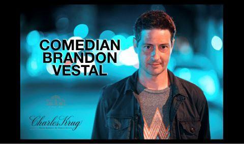 Comedian Brandon Vestal