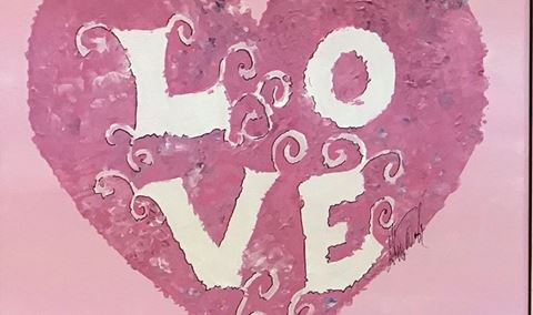 Wine & Painting with Alice Waugh- LOVE EDITION