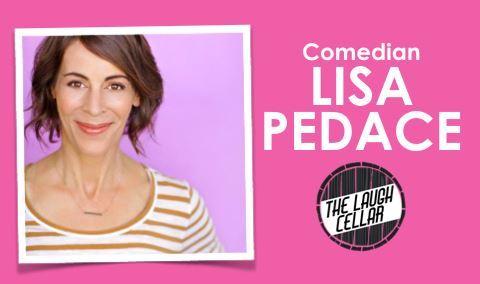 Comedian Lisa Pedace