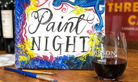 Wine Wednesday Workshop - Paint Night