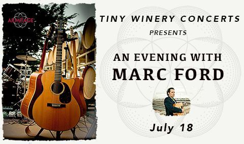 Tiny Winery Concerts Presents An Evening With Marc Ford