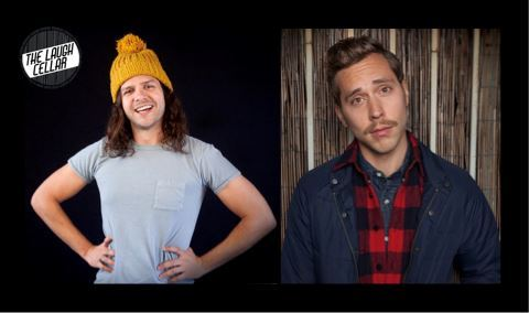 Comedians: Karl Hess & Greg Barris in a Wine Cave!