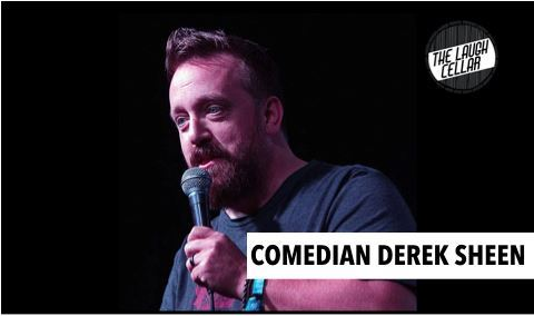 Comedian Derek Sheen - Left Coast Cellars - POSTPONED