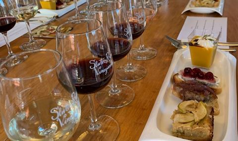 Small Group Food and Wine Pairings