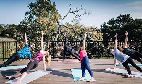 Wellness Wednesdays: Vineyard Yoga