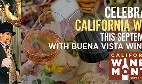 California Wine Month Virtual Tasting with Buena Vista Winery