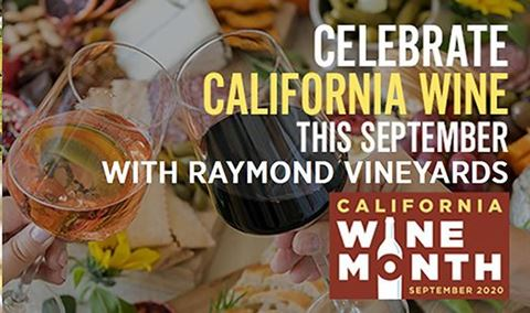 California Wine Month Virtual Tasting with Raymond Vineyards