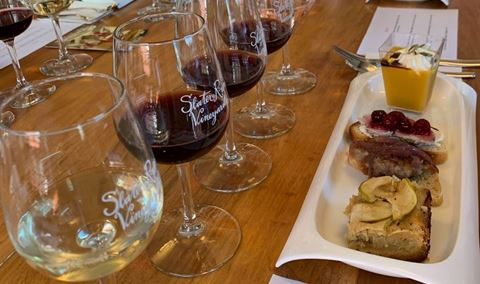 Small Group Food and Wine Pairings-