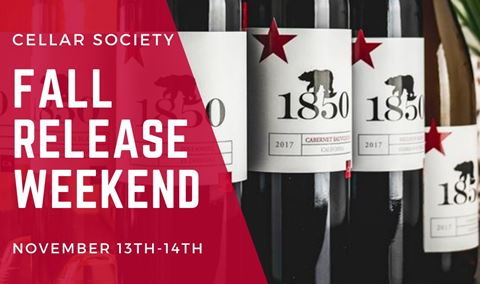 Fall Cellar Society Wine Club Release Party: Saturday, 11/13 Img