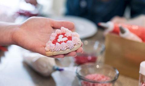 Valentine's Kids' Cookie Decorating