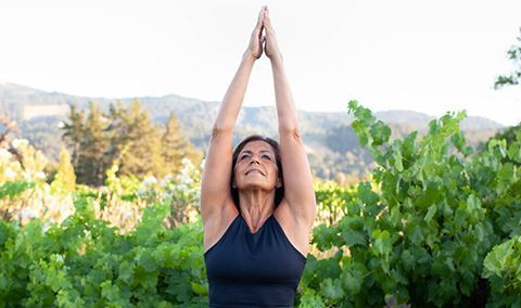Vineyard Yoga Hike