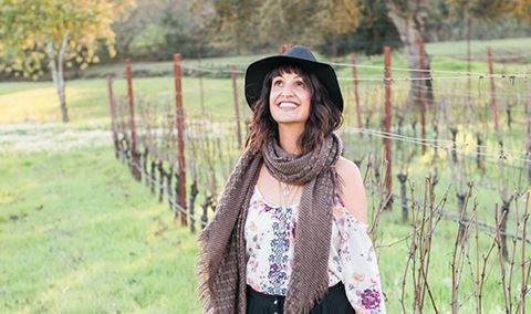 Forest Bathing through the Vineyard