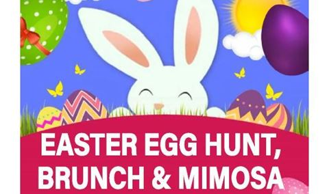 Easter Egg Hunt, Brunch and Mimosas