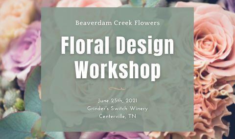 Floral Design Workshop with Beaverdam Creek Flowers Img