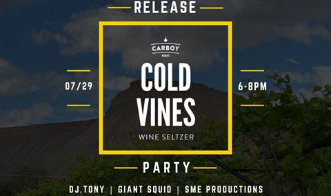 Cold Vines Wine Seltzer Launch Party