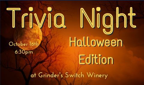 Trivia Night at Grinder's Switch - Halloween Edition!!