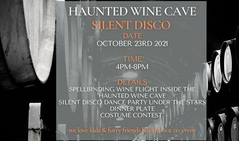 Saracina Vineyards Haunted Wine Cave Silent Disco