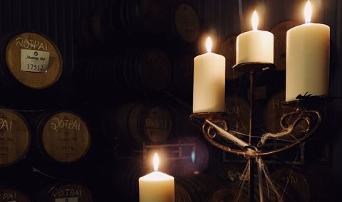 Spooky Cellar Tour