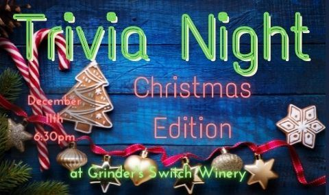 Trivia Night at Grinder's Switch - Christmas Edition!! Img