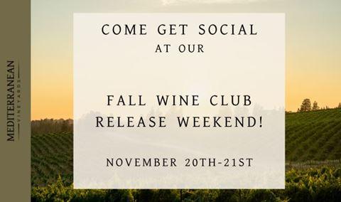 FriendsGiving Wine Club Release Party: Saturday, 11/20 Img
