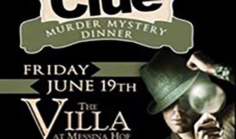 Clue Murder Mystery Dinner Image