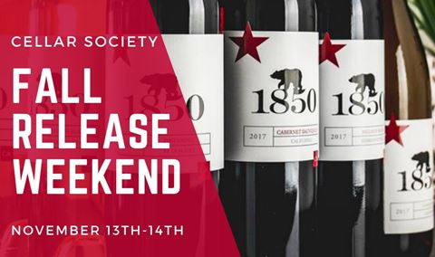 Fall Cellar Society Wine Club Release Party: Sunday, 11/14 Img