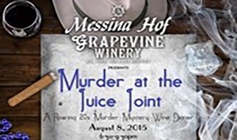 Murder at the Juice Joint  A Roaring 20s Murder Mystery Wine Dinner Image