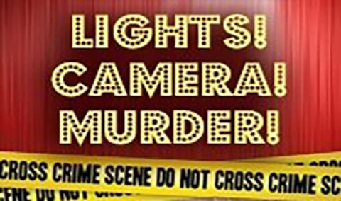 Lights Camera Murder A Halloween Murder Mystery Dinner Image