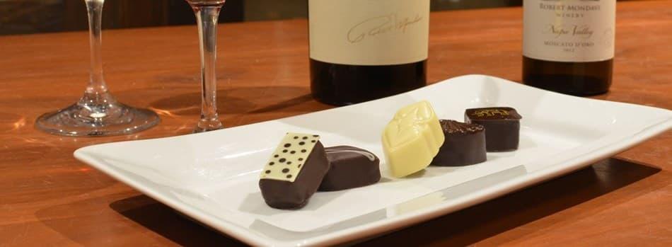 Wine and Chocolate Walk-around Tasting