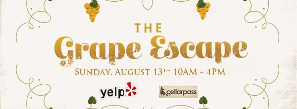 The Grape Escape- Sonoma Valley II