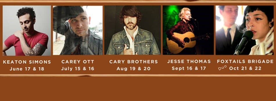 Purchase Tickets to Carey Ott 'Art House Sessions' Showcase at Jessup Cellars on CellarPass