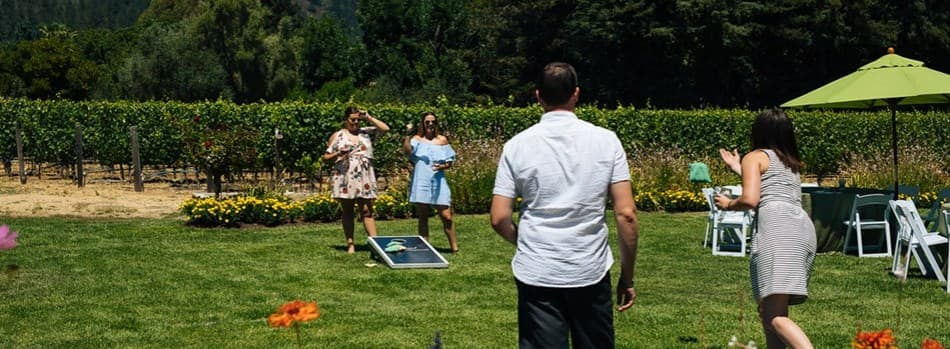 Member Corn Hole Competition