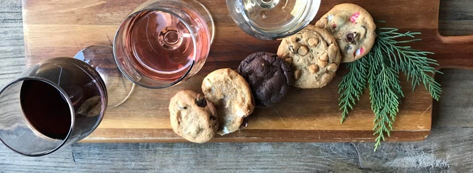 Purchase Tickets to Holiday Cookie Pairing at Bluemont Vineyard on CellarPass